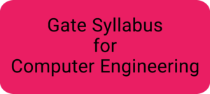 Gate Syllabus for Computer Engineering