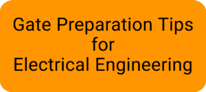 Preparation tips for electrical engineering