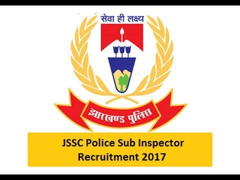 JSSC SI Sub Inspector Recruitment