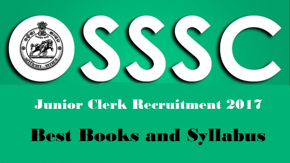 Odisha Junior Clerk Books and Syllabus