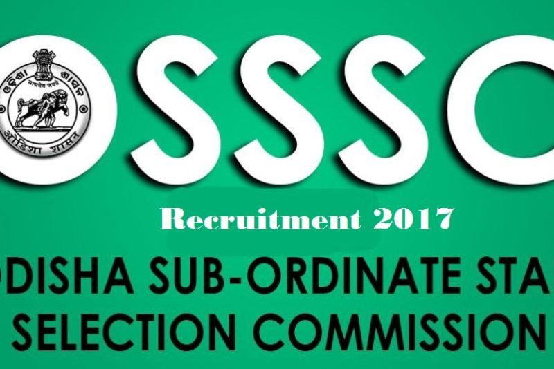 Odisha Junior Clerk Recruitment 2017