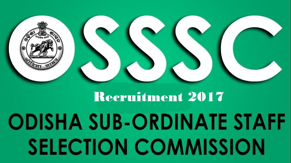 Odisha Junior Clerk Recruitment 2017