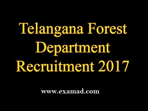TSPSC Forest Beat Officer Recruitment 2017