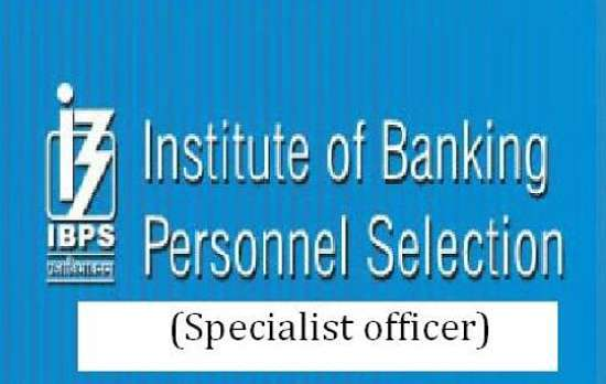 ibps so 2017 notification
