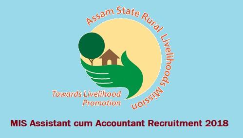 ASRLMS MISAssistant cum Accountant 2018