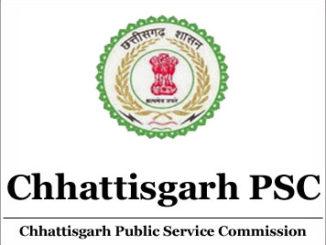 Chhattisgarh PSC SSE Job Apply Online