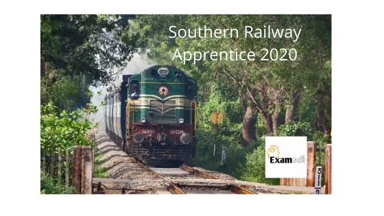 Southern Railway Apprentice Recruitment 2020