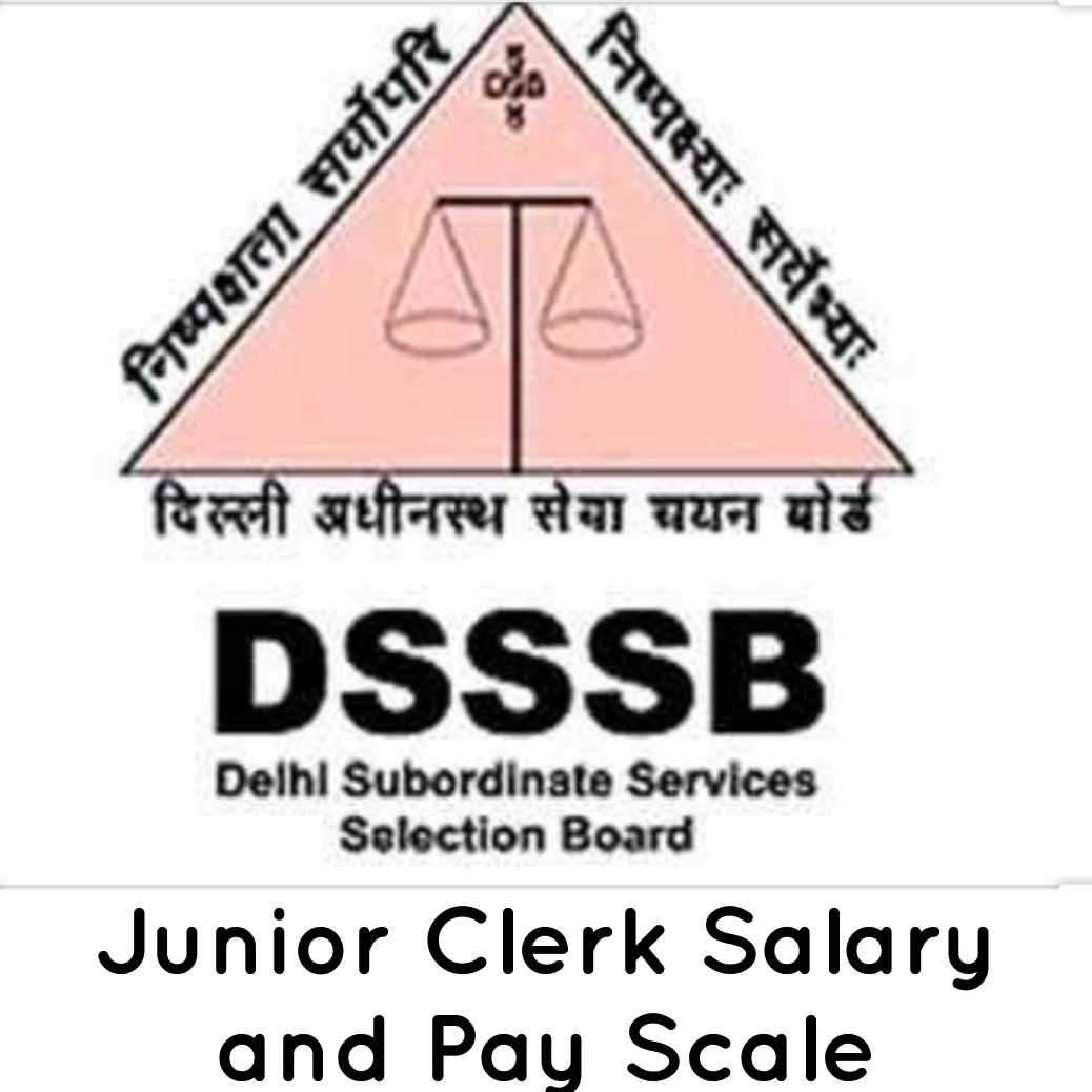 DSSSB Junior Clerk Salary