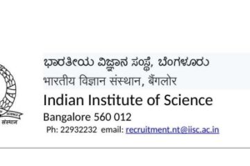 IISc Recruitment 2020